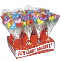 Boobs Candy Bouquet Display