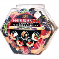 Endurance Lubricated Flavored Con..