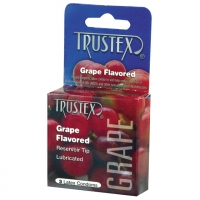 Trustex Flavored Condoms Grape/3 ..