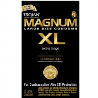 Trojan Magnum XL Lubricated Condoms
