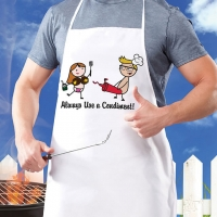 Nutz Apron - Always Use a Condiment