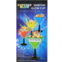 Martini Glow Glass  Set of 4