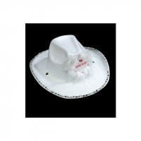 Bride To Be Cowboy Hat White