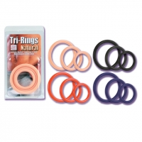 Tri-Rings - Red