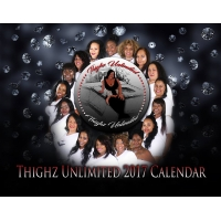 Thighz Unlimited 2017 Calendar
