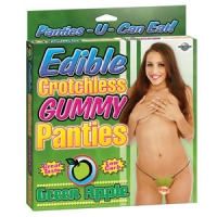 Edible Apple Crotchless Panties