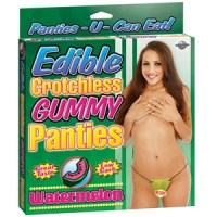 Edible W/melon Crotchless Panties