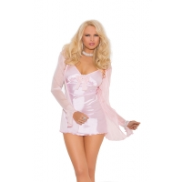 3 Piece Satin Baby Doll