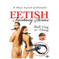 Fetish fantasy series ball gag w/..