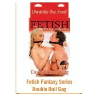 FETISH FANTASY DOUBLE BALL GAG