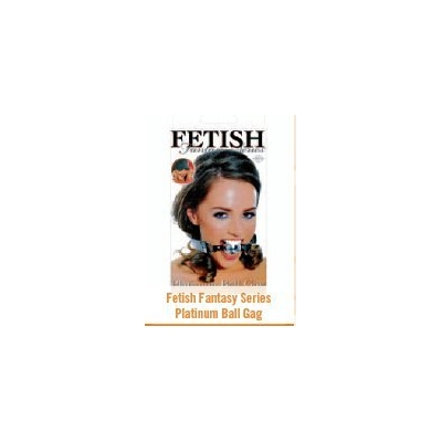 FETISH FANTASY PLATINUM BALL GAG