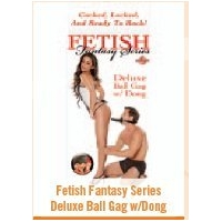 FETISH FANTASY DELUXE BALL GAG w/..