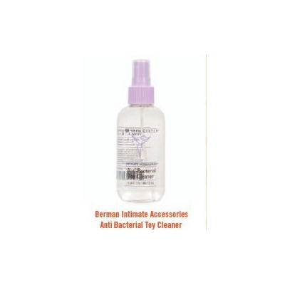 BERMAN INTIMATE ACCESSORIES ANTI-BACTERIAL TOY CLEANER