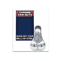 CHROME TOW NUTS