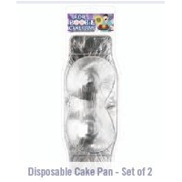 FULL BOOBIE DISPOSABLE CAKE PAN