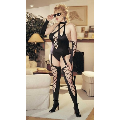 FABULOUS LYCRA STRAPPY 4 PIECE SET