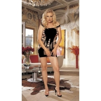 WILD ,STRAPPY STRETCH KNIT CHEMISE