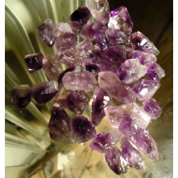 Amethyst rough 130 Grams/65..