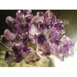 Amethyst rough 115 Grams/55..