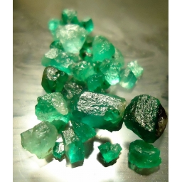 Colombian Emerald Rough 6 c..