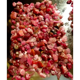 Rough natural Ruby 110 cts  ..