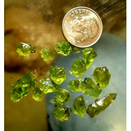 Peridote Rough Facet Gr..