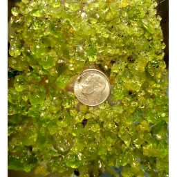 Peridote Rough 235 cts ..