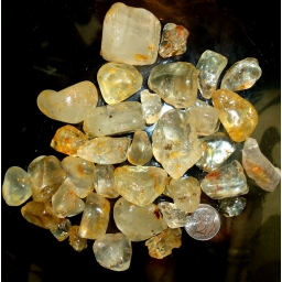 Topaz rough 1250 cts 5 to 30..