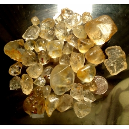 850 cts 5 to 30 mm Topaz ro..
