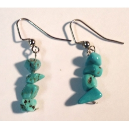 Turquoise Earrings hand made..