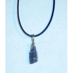 Raw Natural Iolite Neck..
