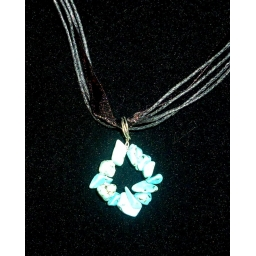 Turquoise Necklace 30X25X10 ..