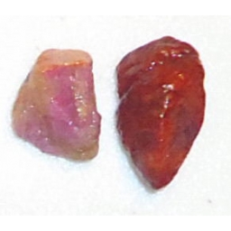 Natural Raw Ruby 12 cts 12 M..