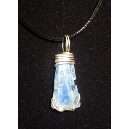 Kyanite In Sterling Necklace..