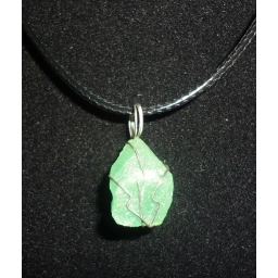 Natural Green Quartz Necklac..