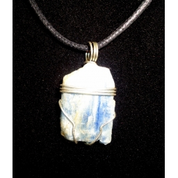 Blue Kyanite In Sterling Nec..