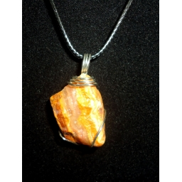 Fire Agate Necklace 40X..