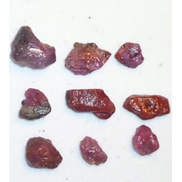 Ox Blood Ruby Rough 30 cts 9..