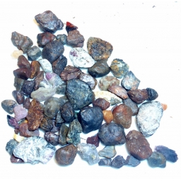 Mixed Sapphire 300 cts 5 To ..
