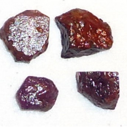 Ox Blood Ruby Rough 14 cts 8..