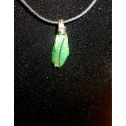 Green Quartz And Sterling Ne..