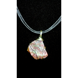 Ruby In Sterling Necklace 25..
