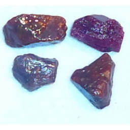 Ox Blood Ruby Rough 20 cts 1..