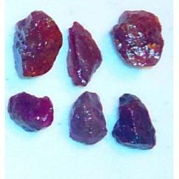 Ox Blood Ruby Rough 15 cts 6..