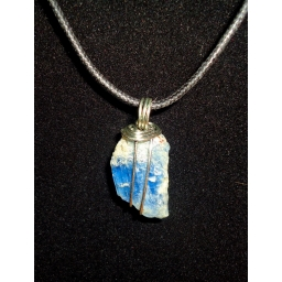 Blue Kyanite In Sterling 30X..