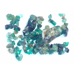 Emerald Rough 22 cts  2 To 1..