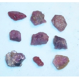 Natural Raw Ruby 25 cts 8 To..