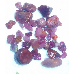 Natural Raw Ruby 22 cts 5 To..