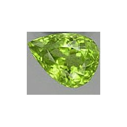 Peridot loose faceted 1..