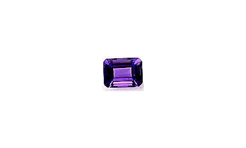 1.5 cts 9x7x5 MM African Amethyst loose faceted 671D